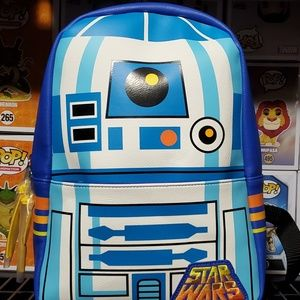 Funko Leather R2d2 Backpack